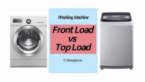 Front Load vs Top Load Washing Machine in India