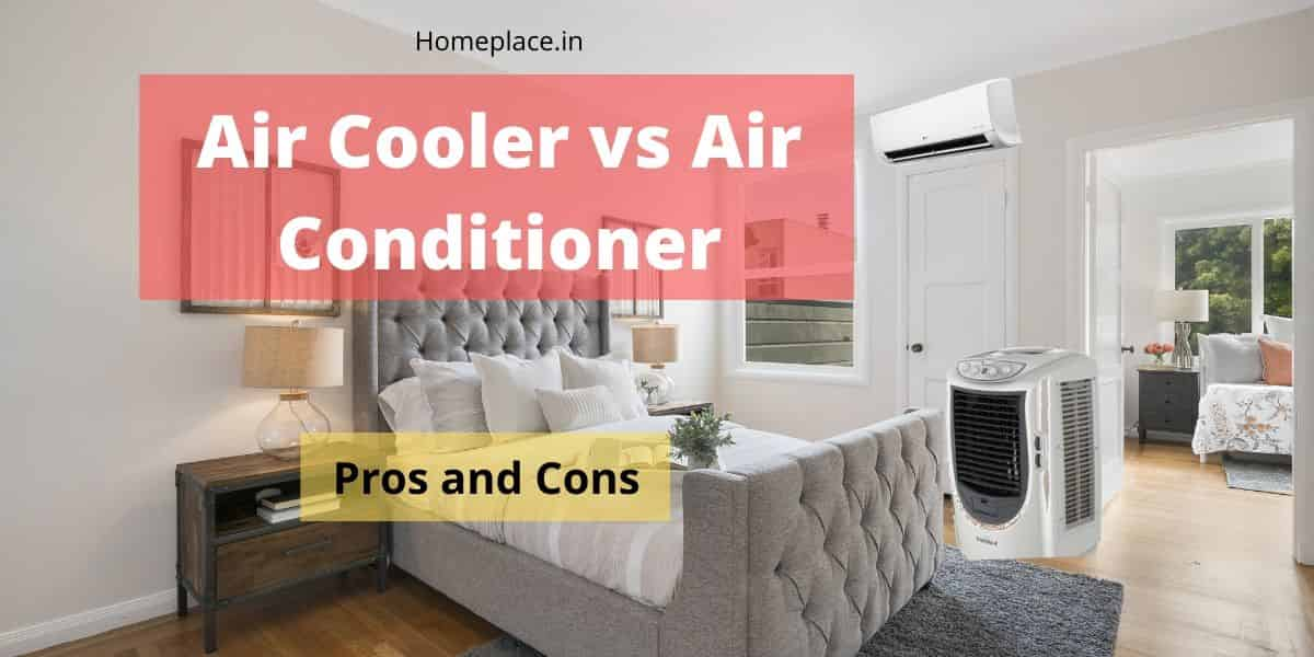 difference between air cooler and air conditioner