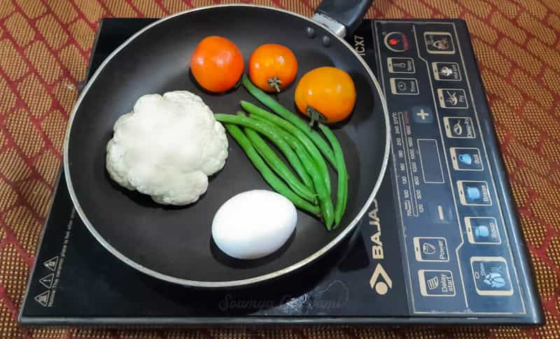 cooking with an induction cooktop