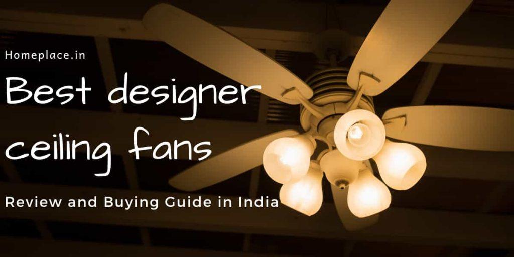 designer ceiling fans with light