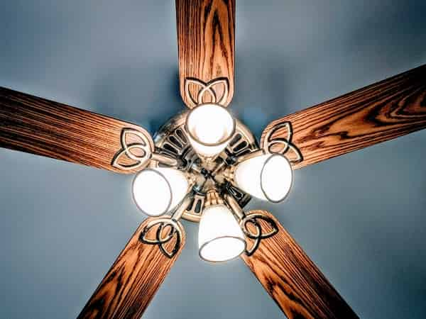 designer ceiling fan with light in India
