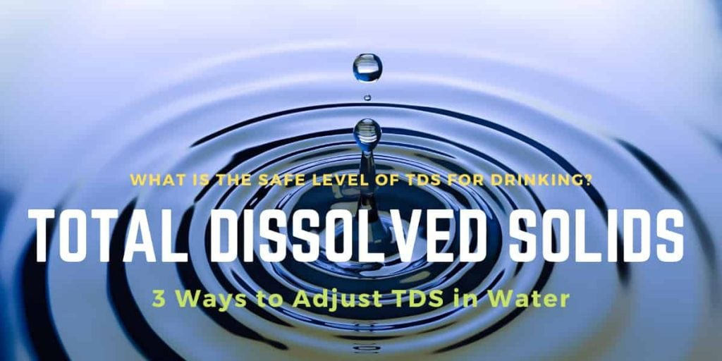 what is tds and how to reduce it