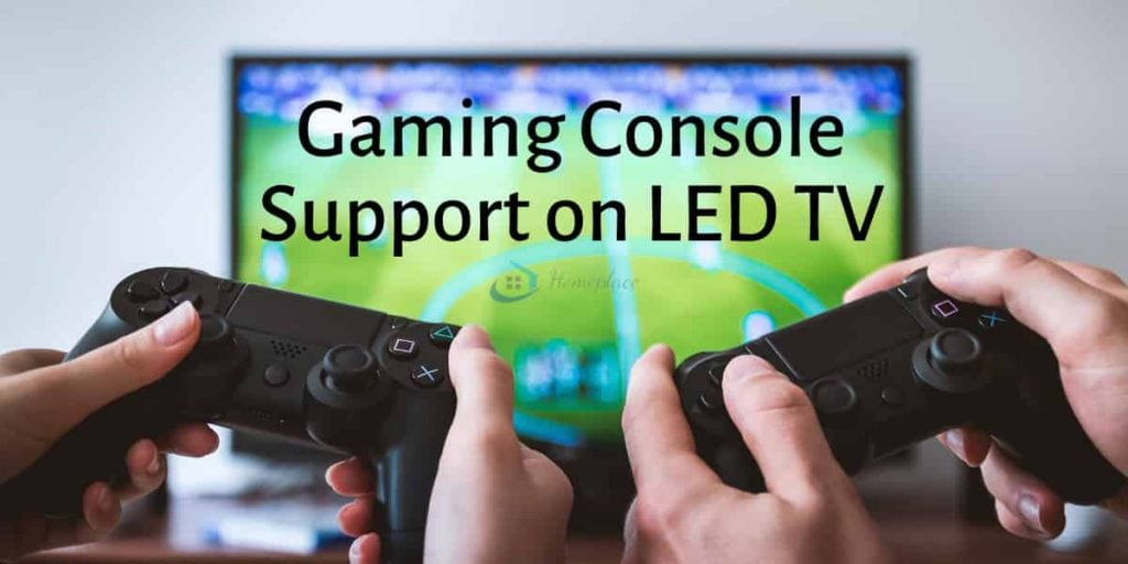 LED TV gaming console support