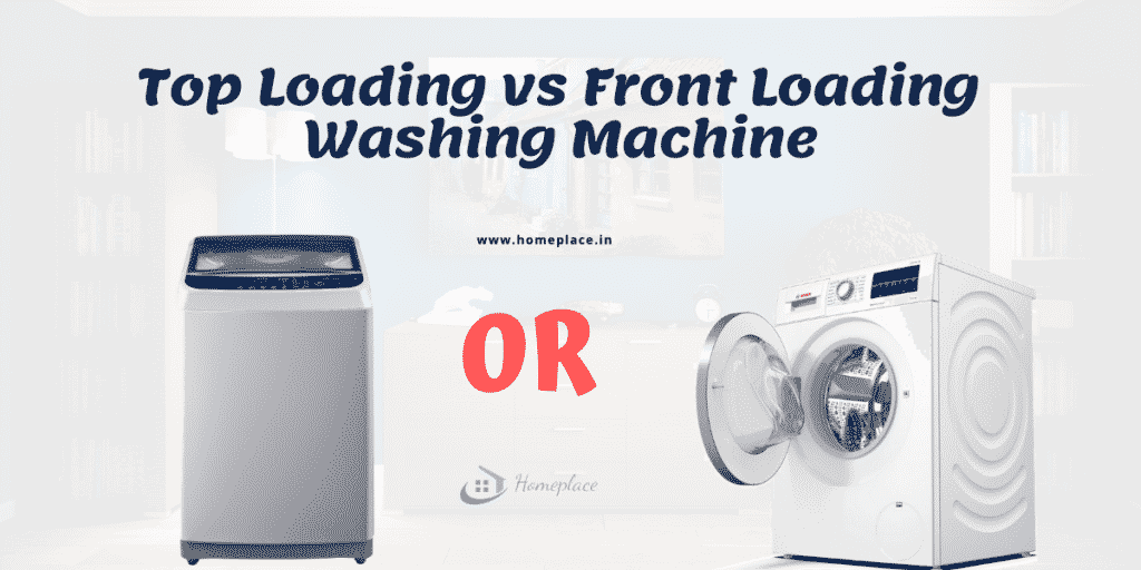 Top loading vs front loading washing machine