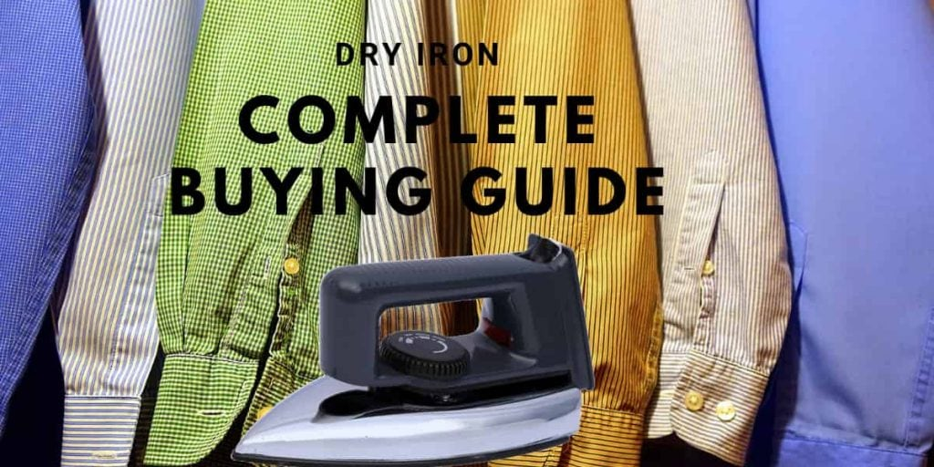 best dry irons in India buying guide