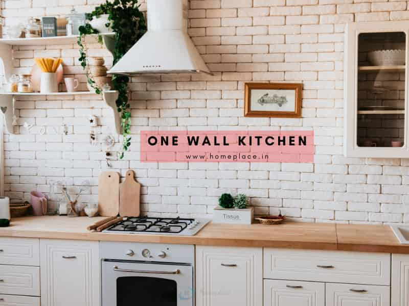 one wall kitchen idea