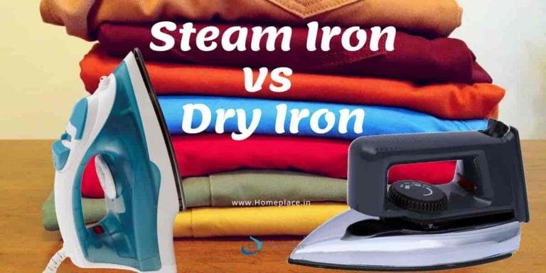 Steam Iron vs Dry Iron