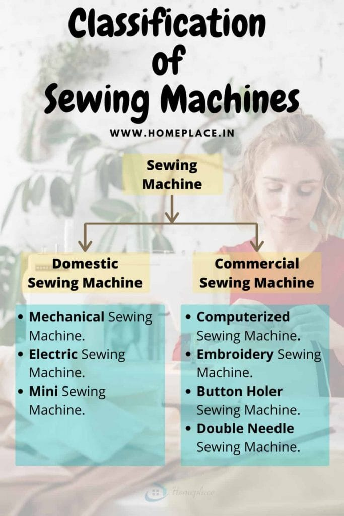 types of sewing machines in India