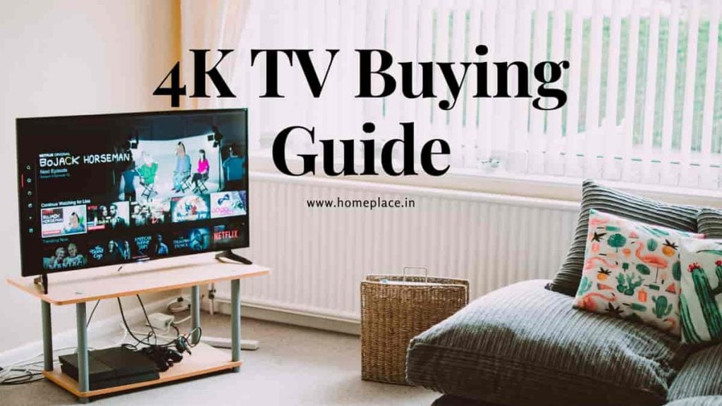 best 4K TV buying guide in India
