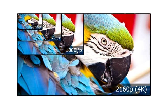 4K TV resolution