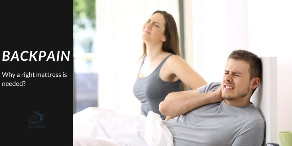 back pain - why a right mattress is needed?