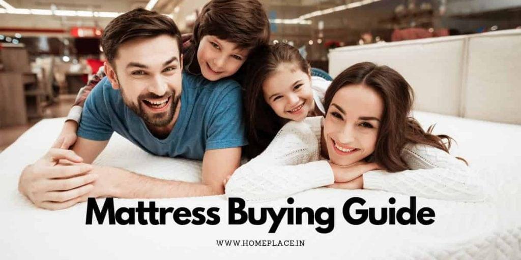 mattress buying guide India
