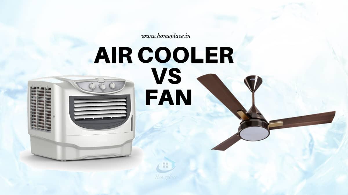 Air Cooler vs Fan power consumption