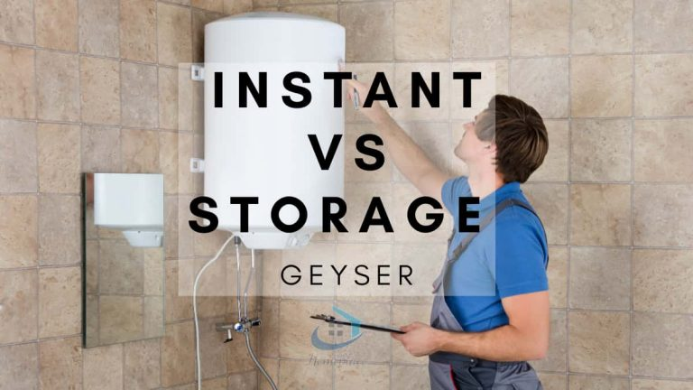 INSTANT VS STORAGE GEYSER