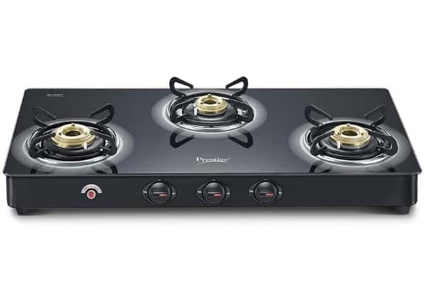 Prestige auto ignition gas stove