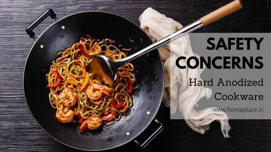 safety for hard anodized cookware