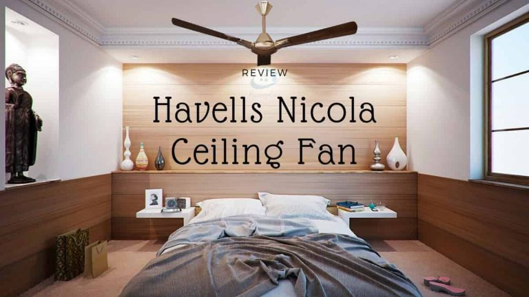 Havells Nicola 1200 mm ceiling fan review