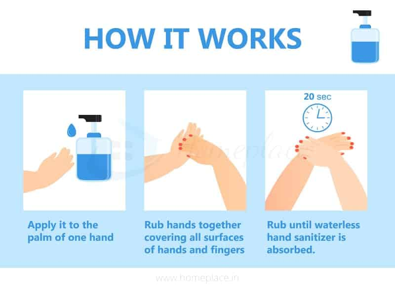 how to use hand sanitizer dispenser