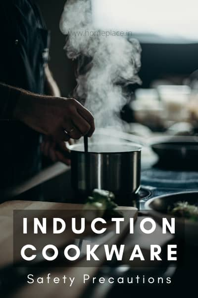 induction cookware safety precaution