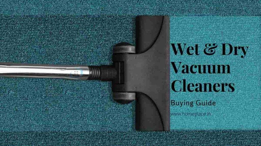 best wet and dry vacuum cleaners in India