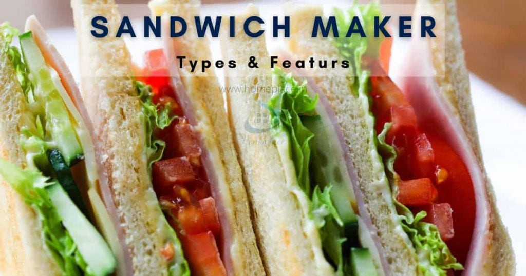 types of sandwich makers