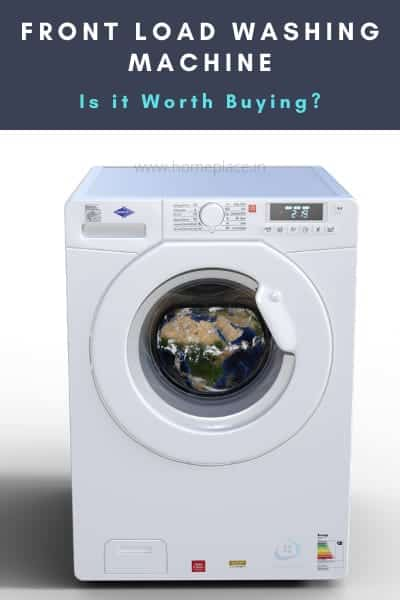 worthiness of best front loading washing machines in India