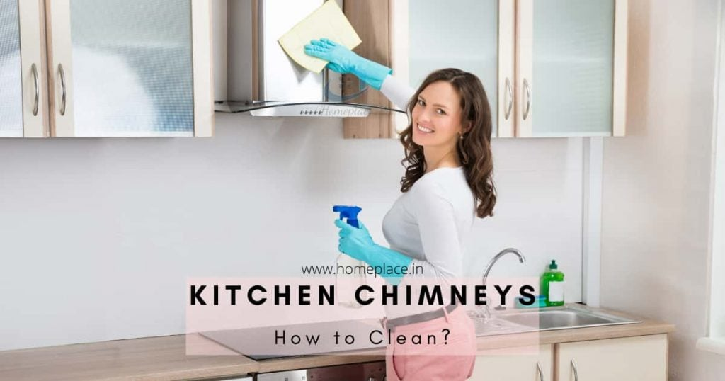 How to clean kitchen chimney at home