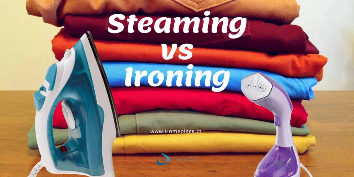 steaming vs ironing