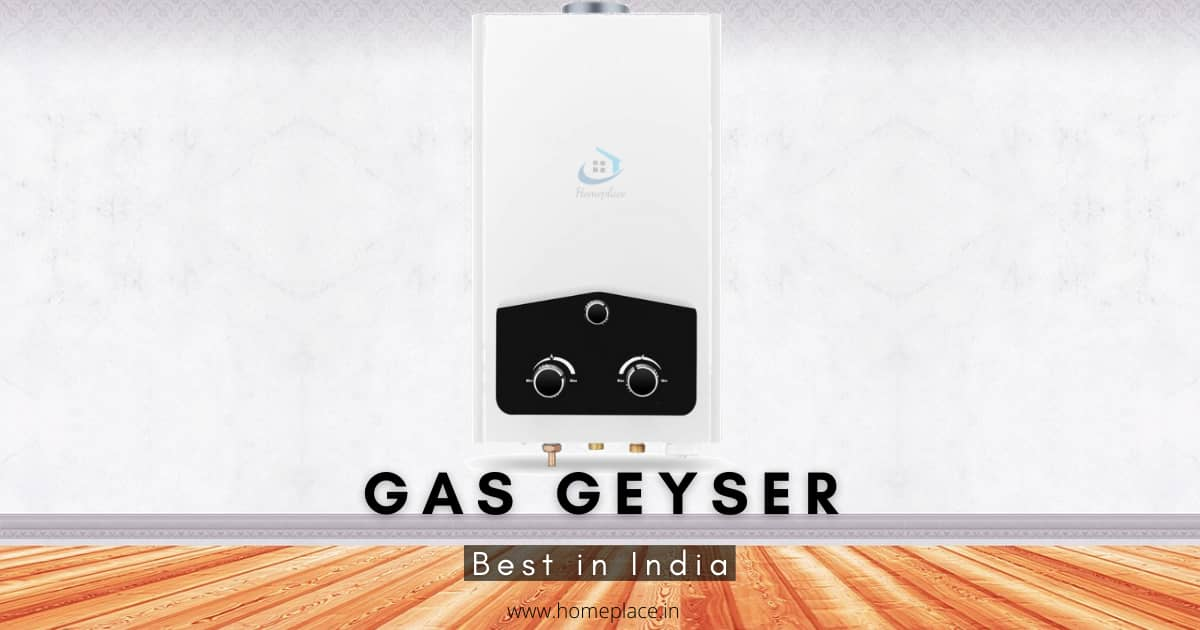 best gas geysers in India