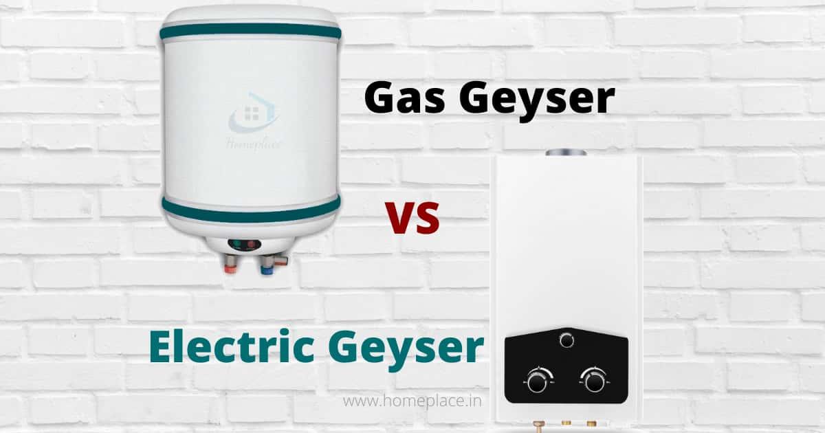 Electric Geyser Vs Gas geyser