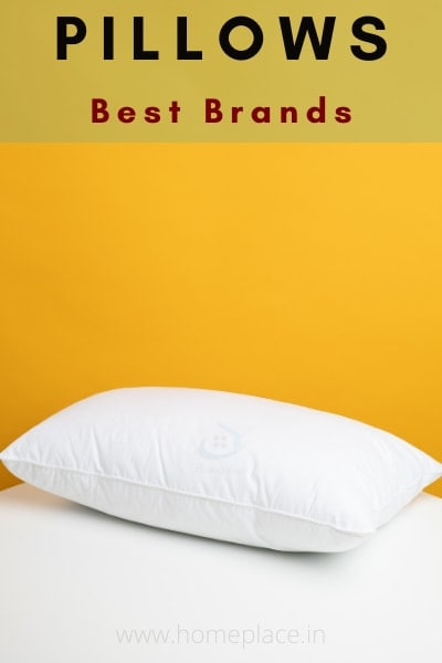 best pillow brands in India