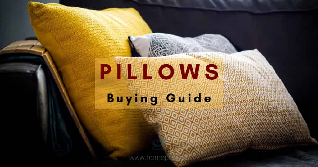 buying guide for best pillow in India