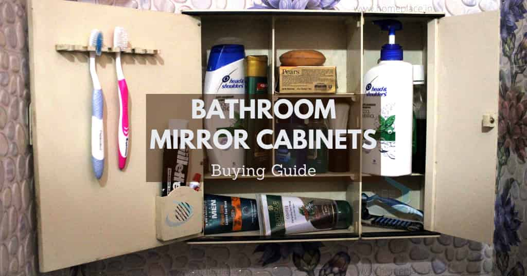 buying guide for best bathroom mirror cabinets