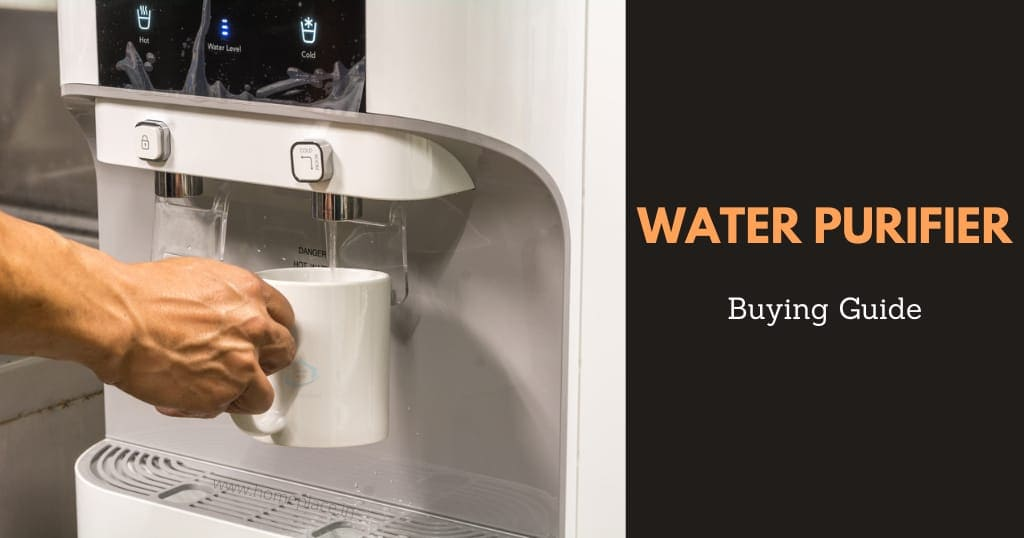 buying guide for best water purifiers in India