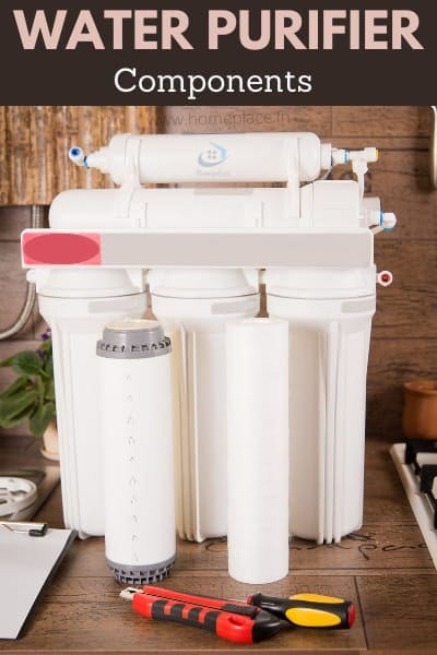 components of water purifiers