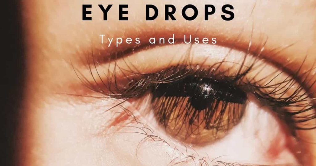 types and uses of eyedrop