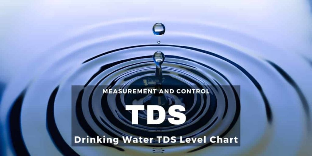 Drinking Water TDS Level Chart – Know the Ideal Range of TDS
