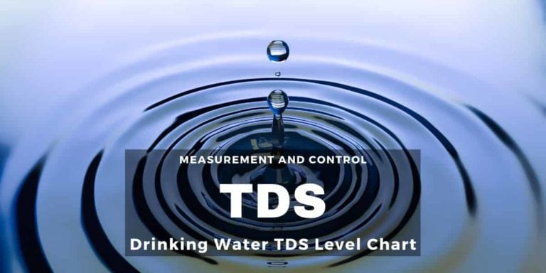 Drinking Water TDS level