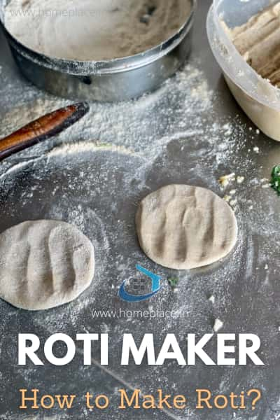 How to make roti in a roti maker