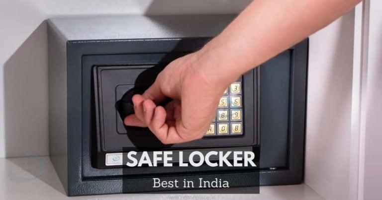 best safe locker for home in India