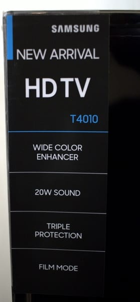 Samsung LED TV features
