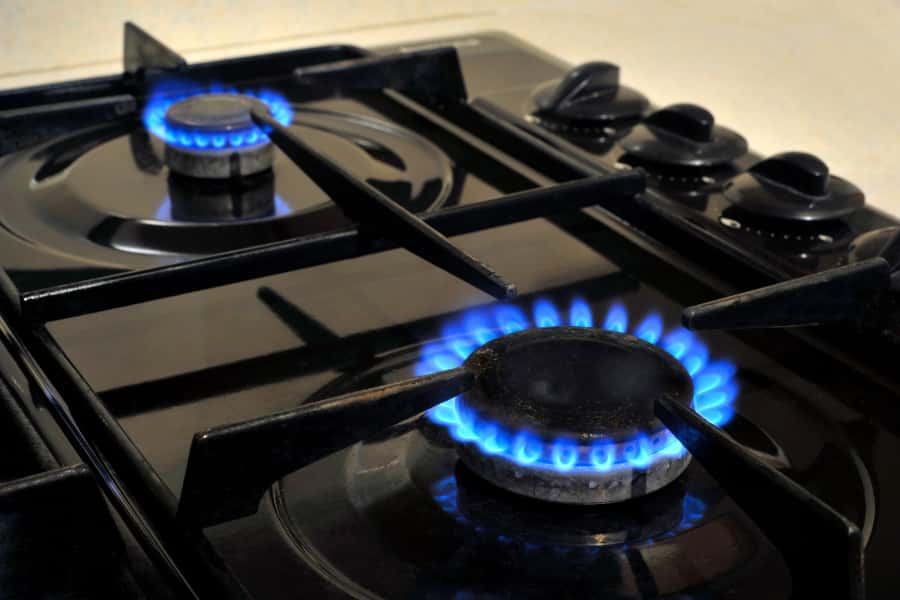 autoignition gas stove