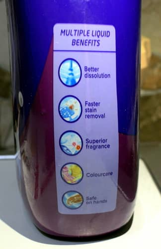 benefits of liquid detergents for washing machine