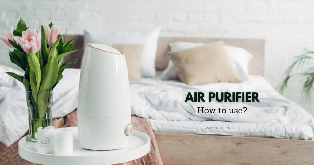 how to use air purifier