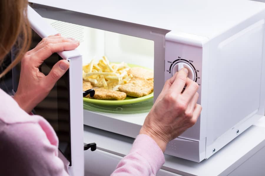 microwave oven operation safety