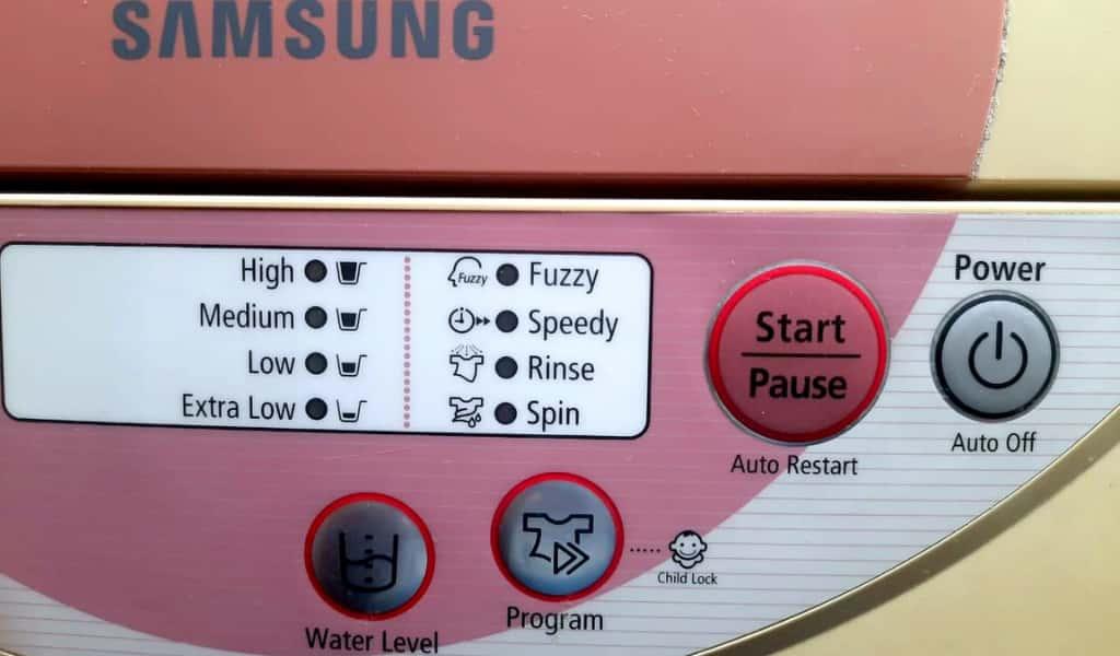 semi automatic washing machine wash programs