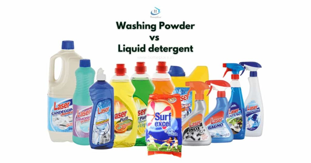 washing machine powder vs liquid detergent
