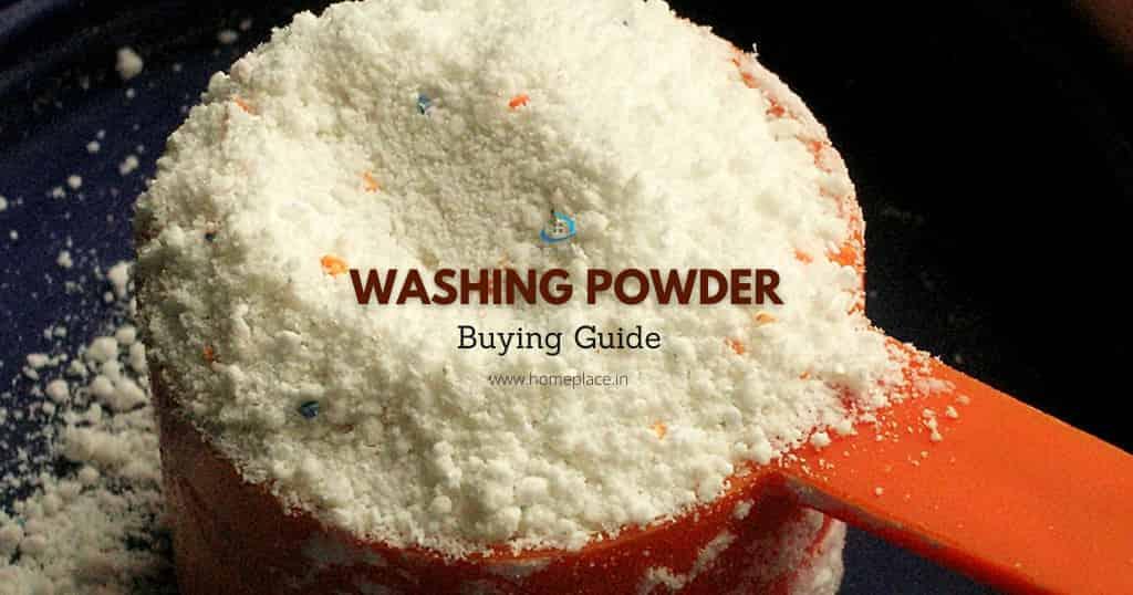 washing powder buying guide in India