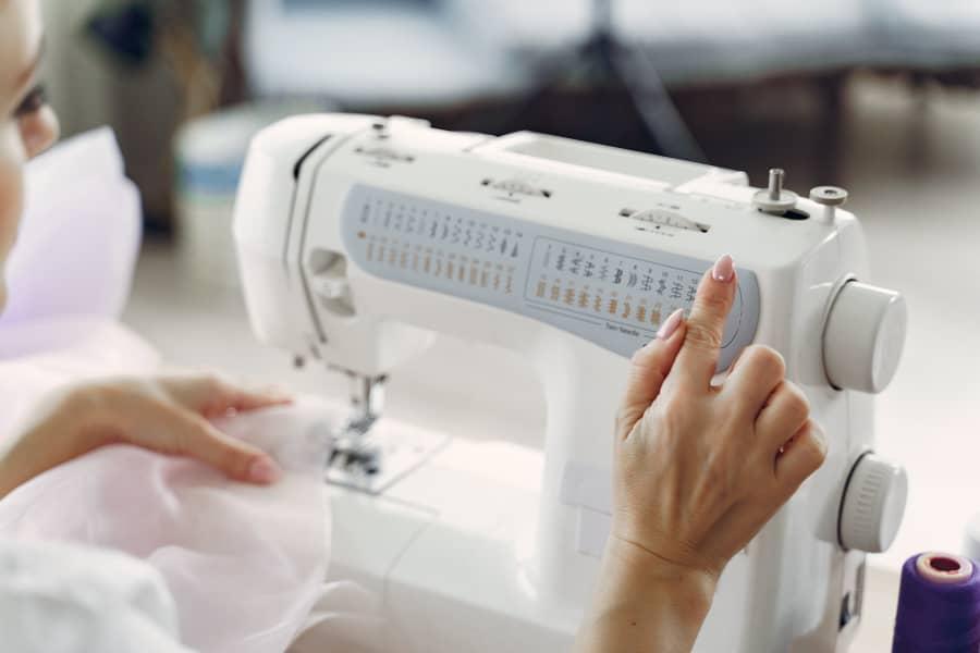 working of sewing machine