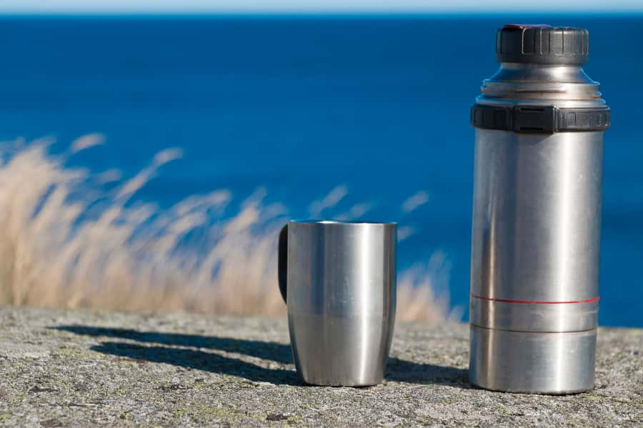 branded thermos flask